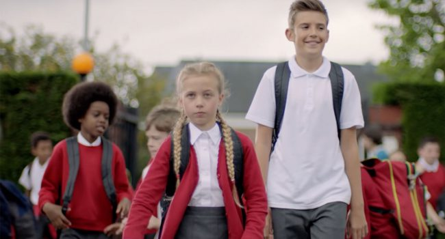 Anne Stone Casting recent work on Back to School Ad